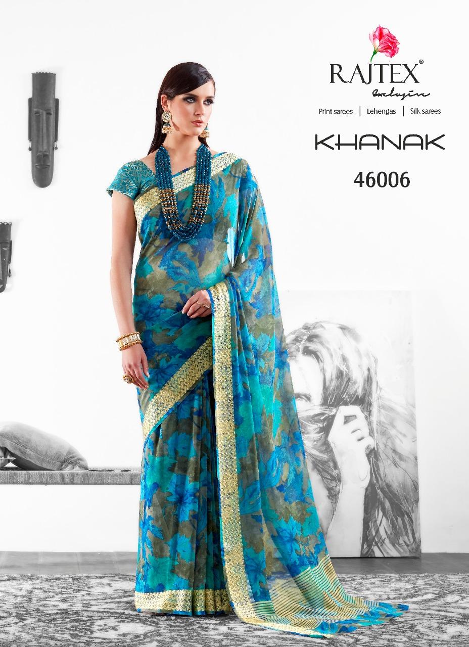 Rajtex Saree Khanak 46006