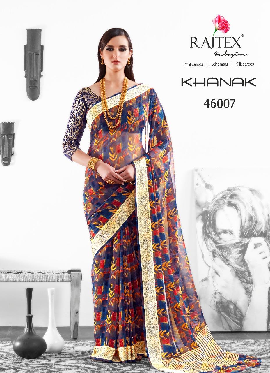 Rajtex Saree Khanak 46007