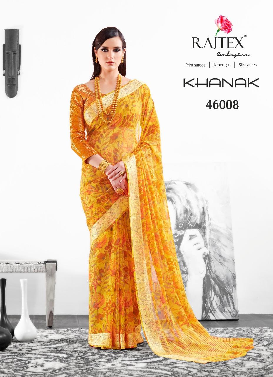Rajtex Saree Khanak 46008