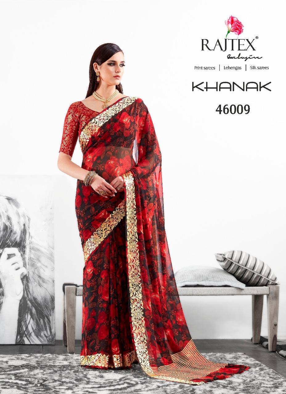 Rajtex Saree Khanak 46009