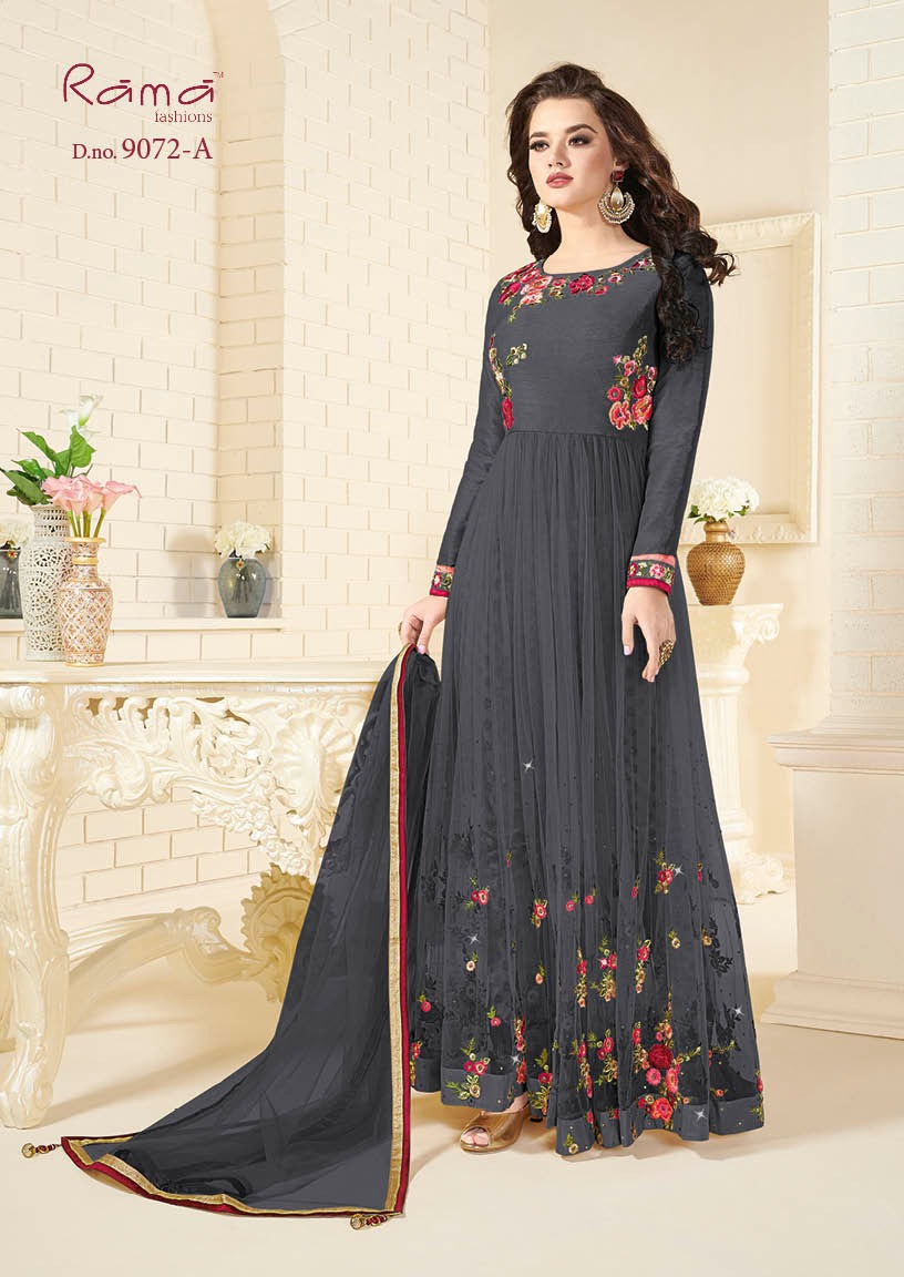 Rama Fashion Naaz 9072A