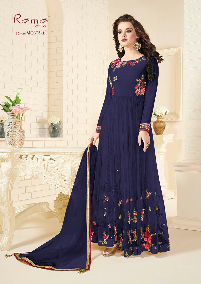 Rama Fashion Naaz 9072C