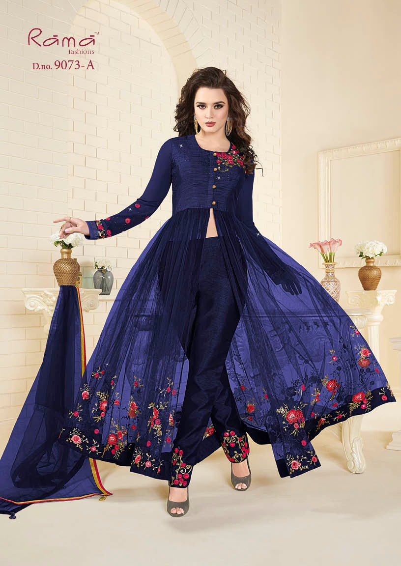 Rama Fashion Naaz 9073A