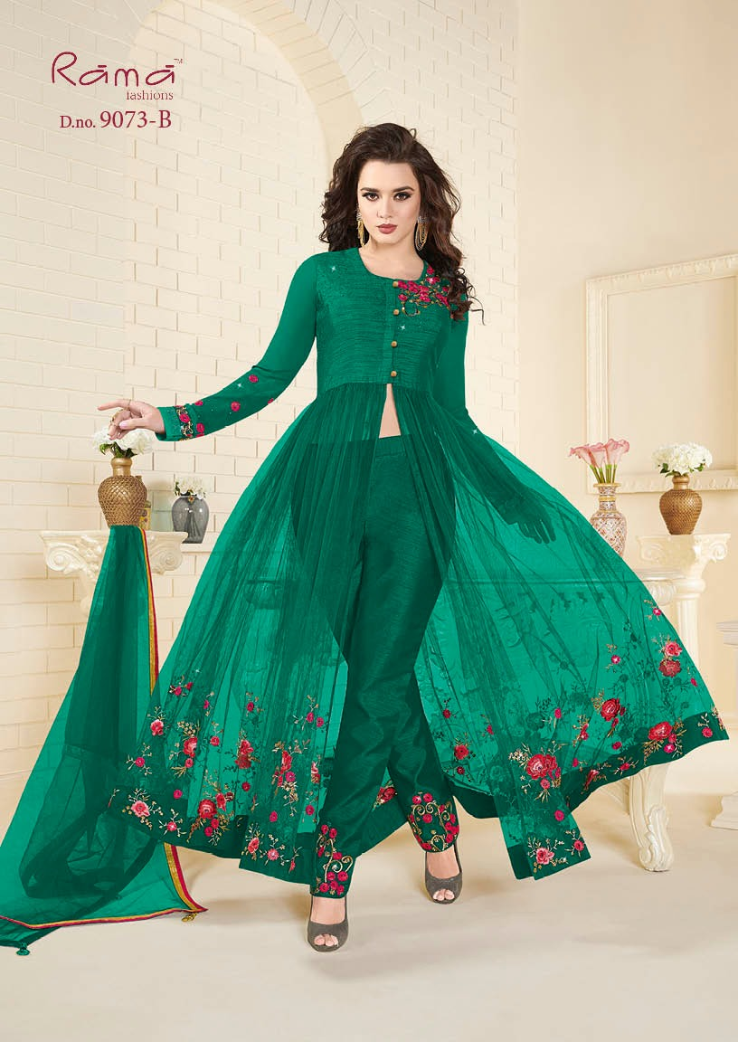 Rama Fashion Naaz 9073B