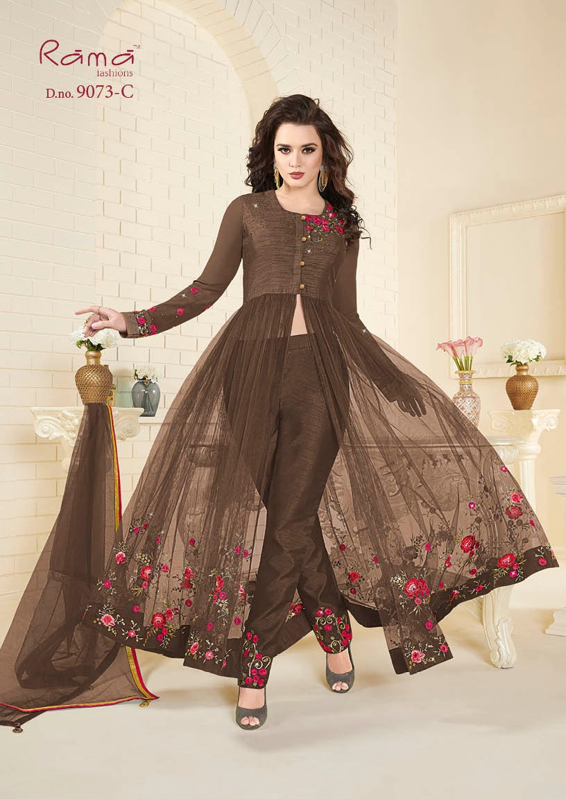 Rama Fashion Naaz 9073C