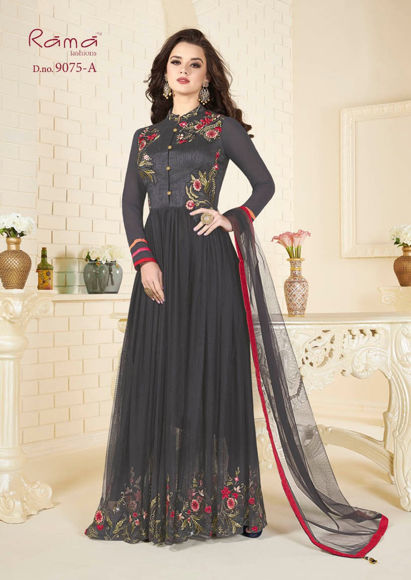 Rama Fashion Naaz 9075A