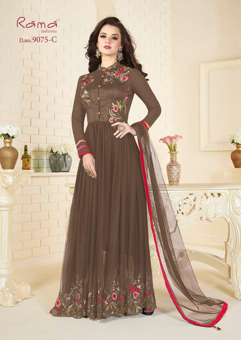 Rama Fashion Naaz 9075C