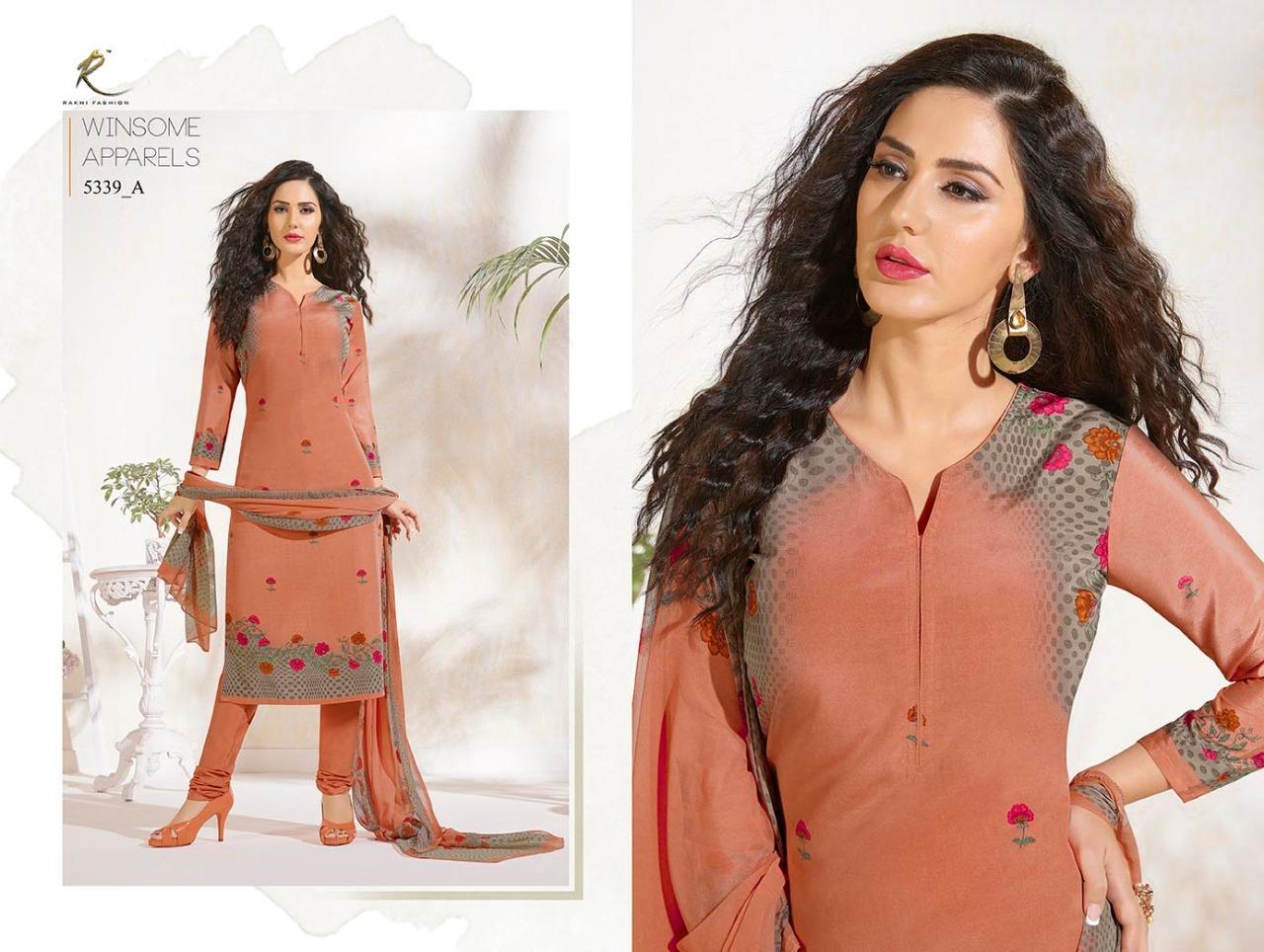 Rakhi Fashion Candy Long Suit 5339A