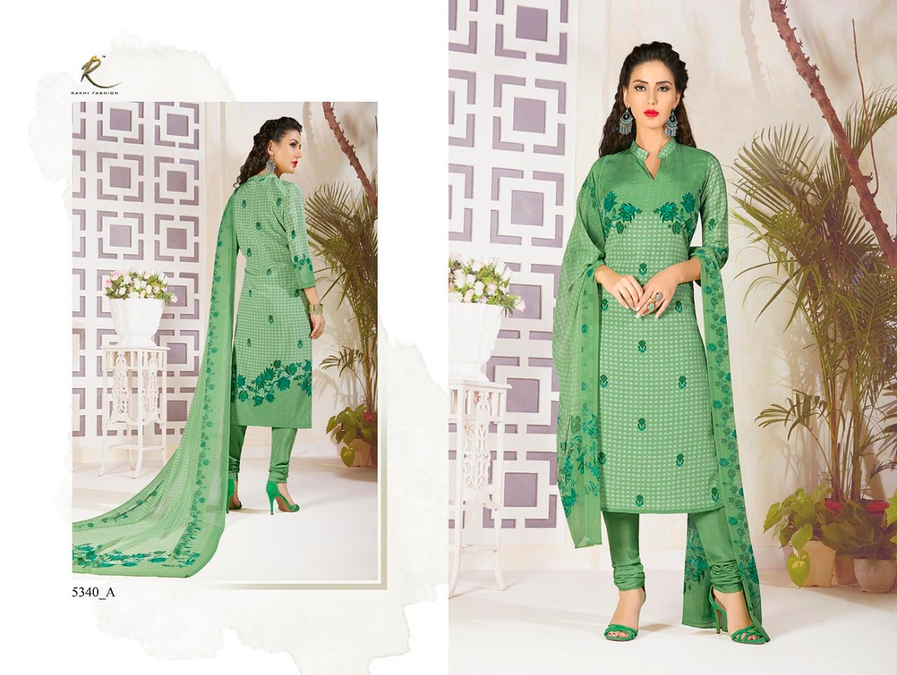 Rakhi Fashion Candy Long Suit 5340A