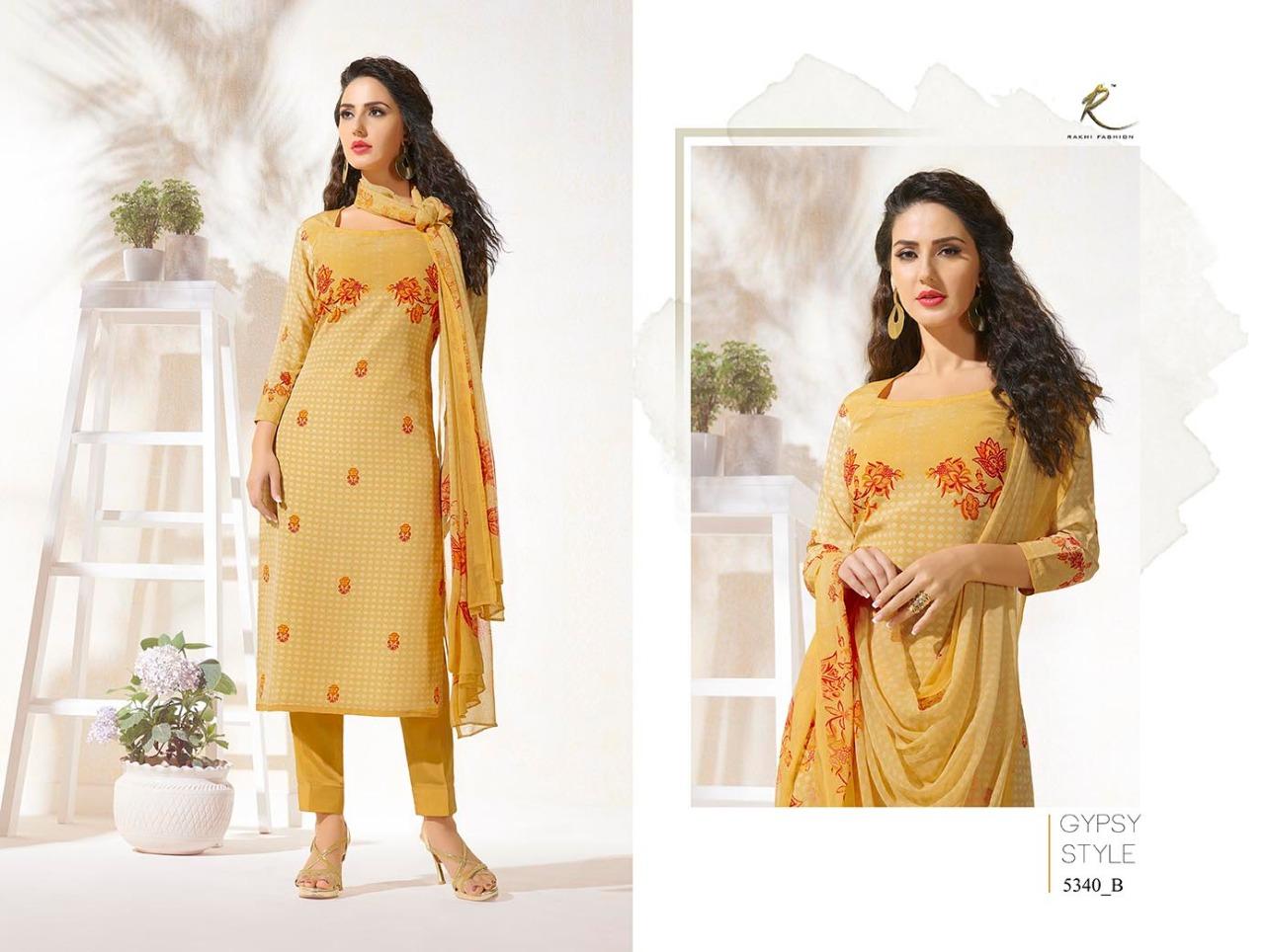 Rakhi Fashion Candy Long Suit 5340B