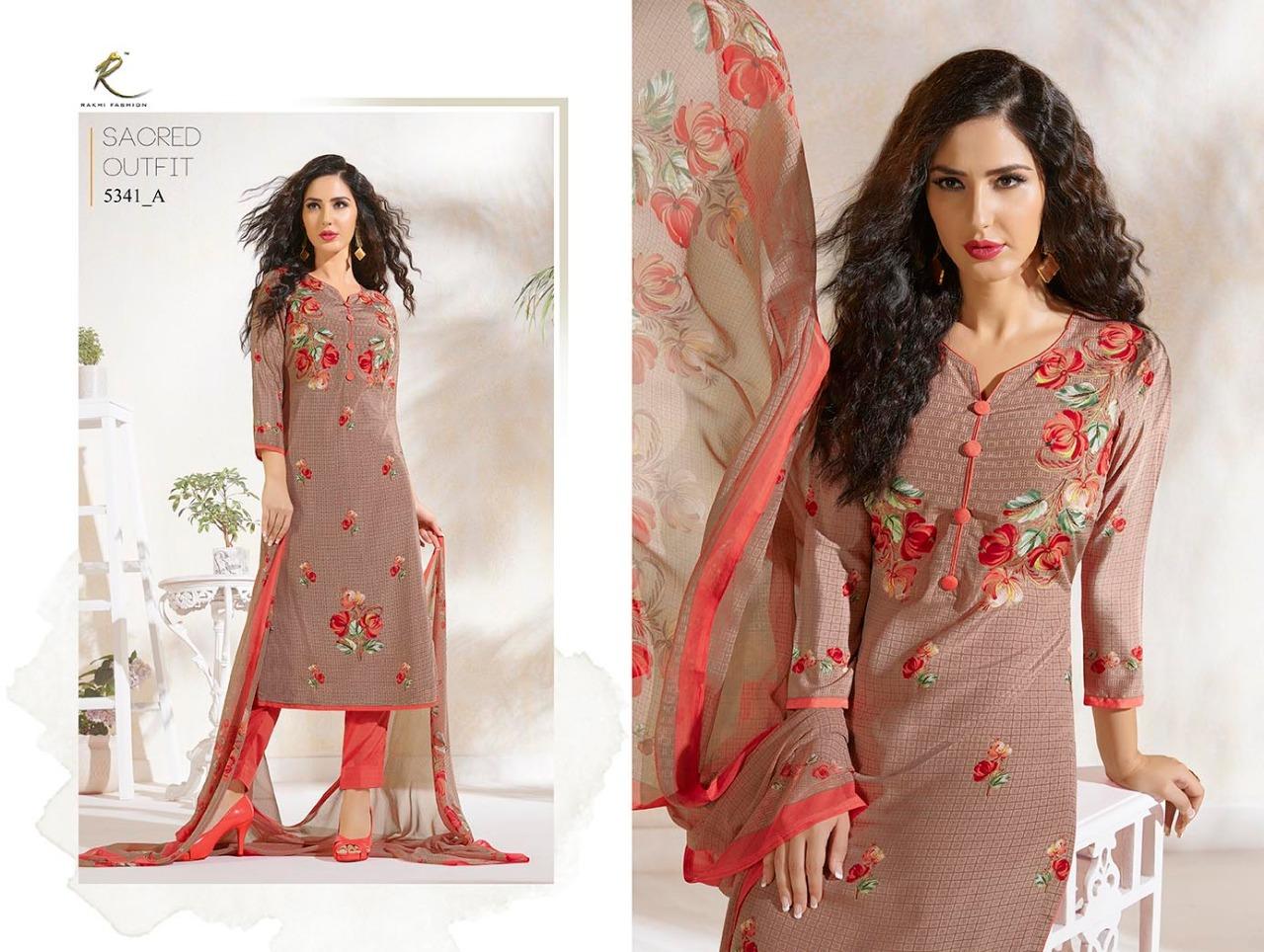 Rakhi Fashion Candy Long Suit 5341A