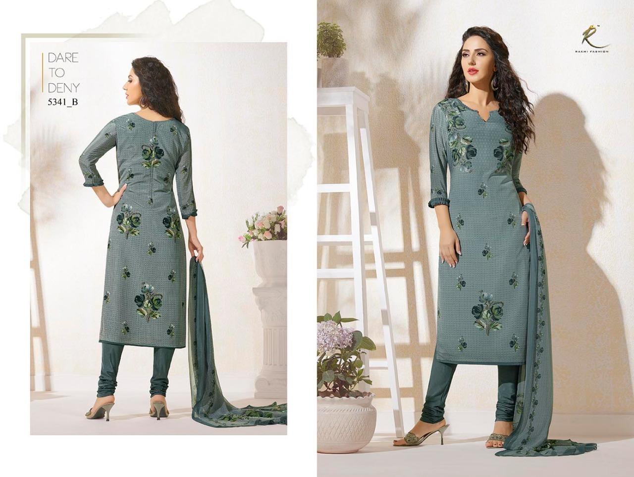 Rakhi Fashion Candy Long Suit 5341B