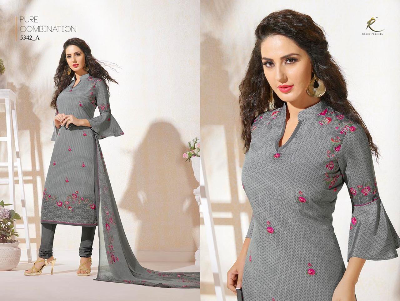 Rakhi Fashion Candy Long Suit 5342A