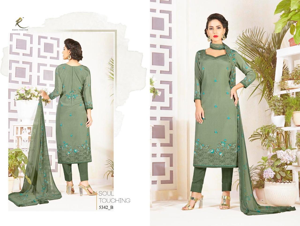 Rakhi Fashion Candy Long Suit 5342B