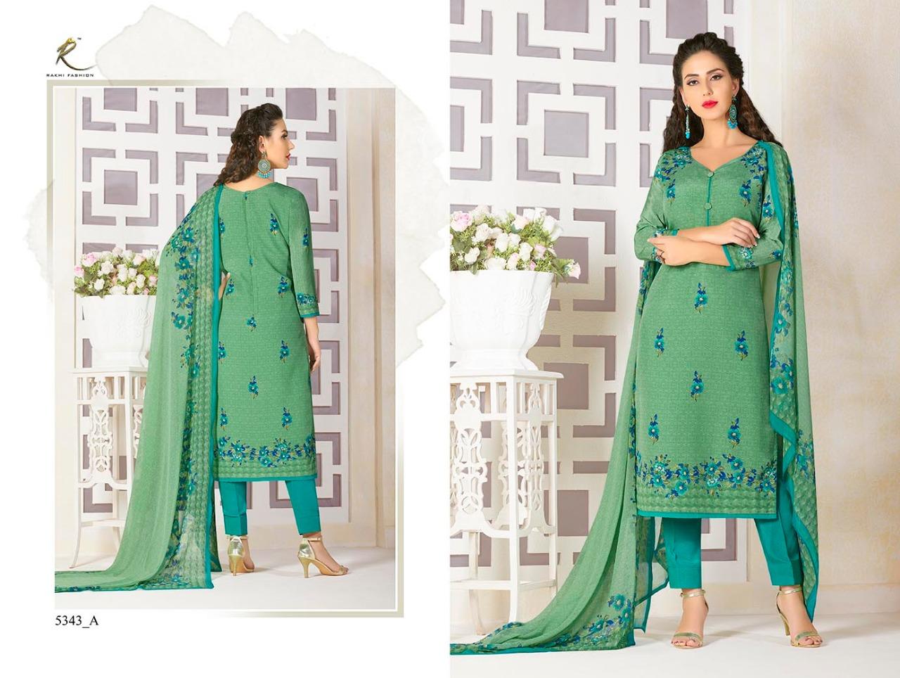 Rakhi Fashion Candy Long Suit 5343A