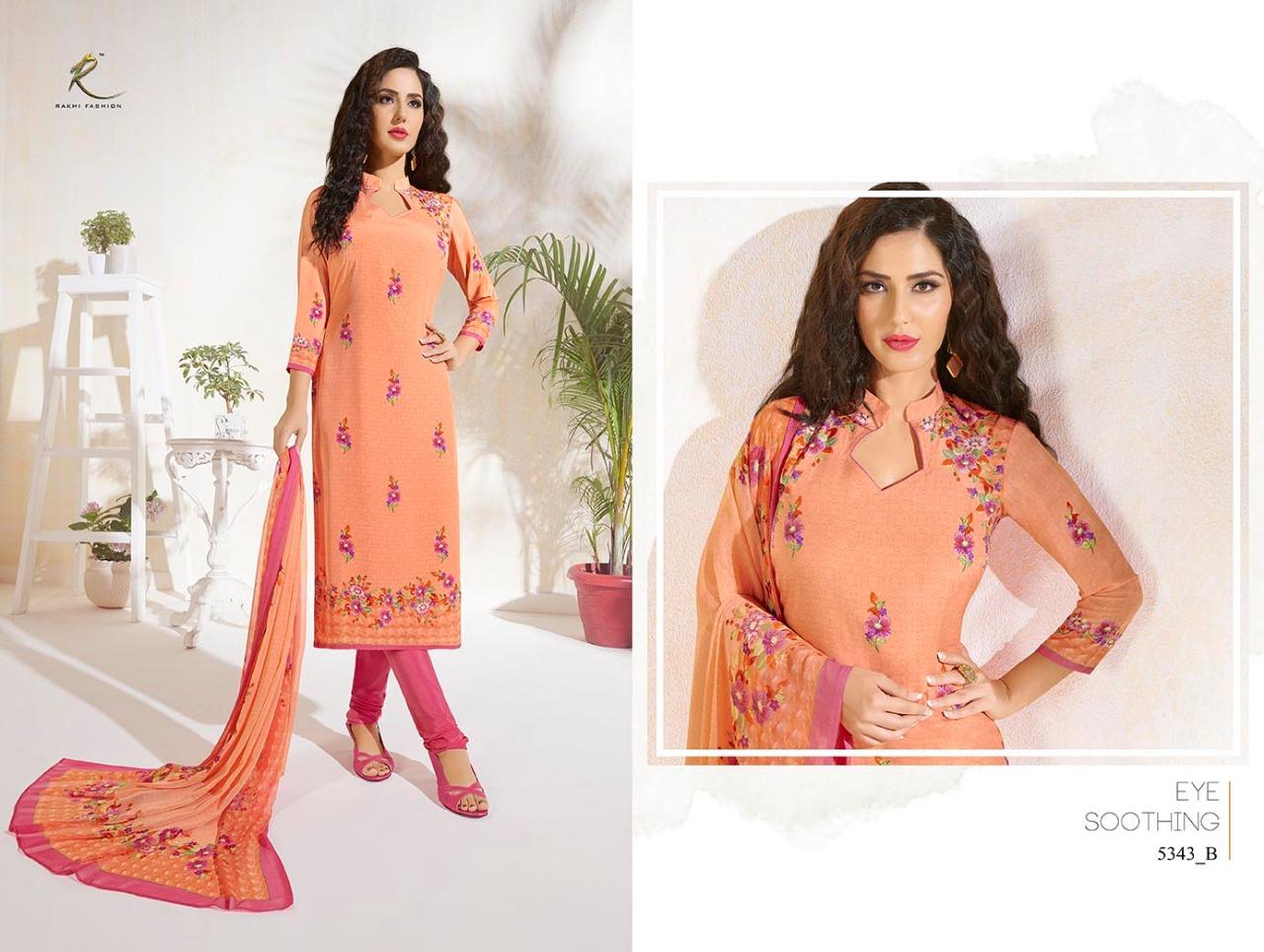 Rakhi Fashion Candy Long Suit 5343B
