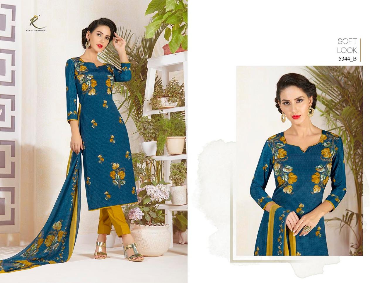 Rakhi Fashion Candy Long Suit 5344B
