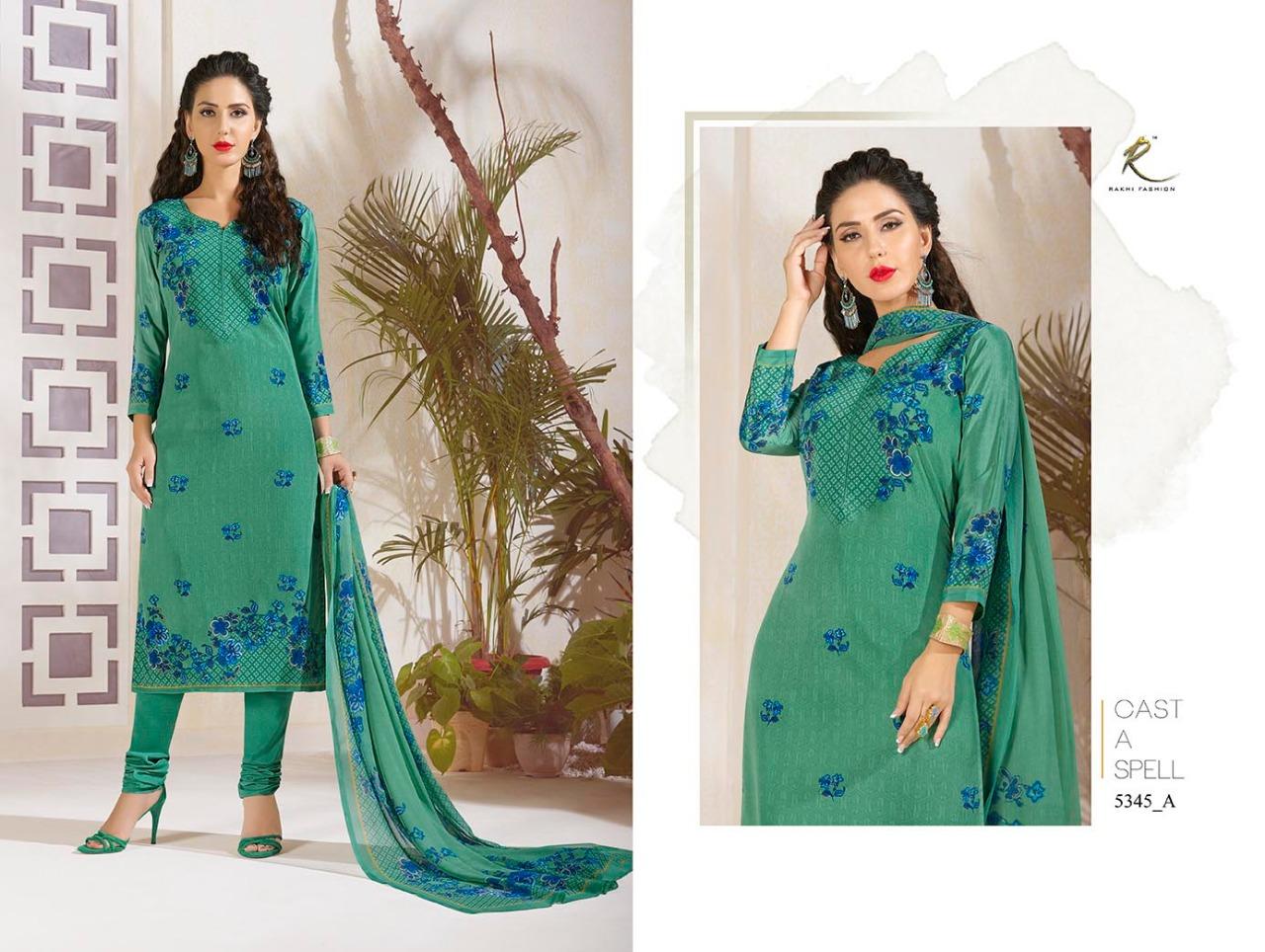 Rakhi Fashion Candy Long Suit 5345A