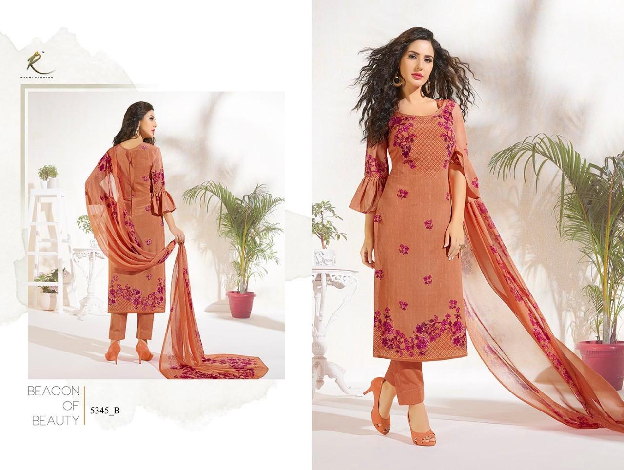 Rakhi Fashion Candy Long Suit 5345B