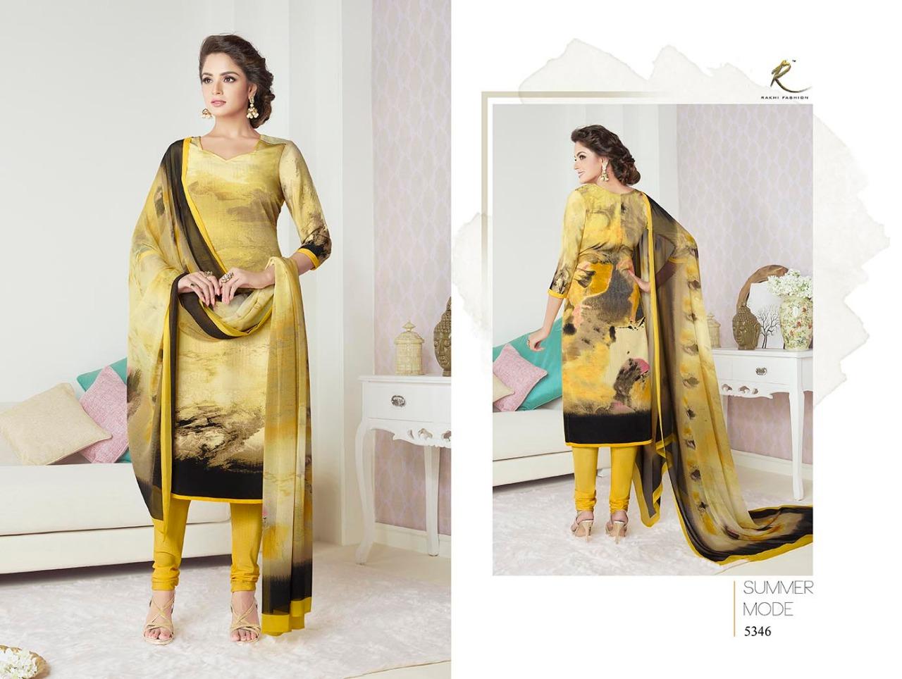 Rakhi Fashion Candy Long Suit 5346