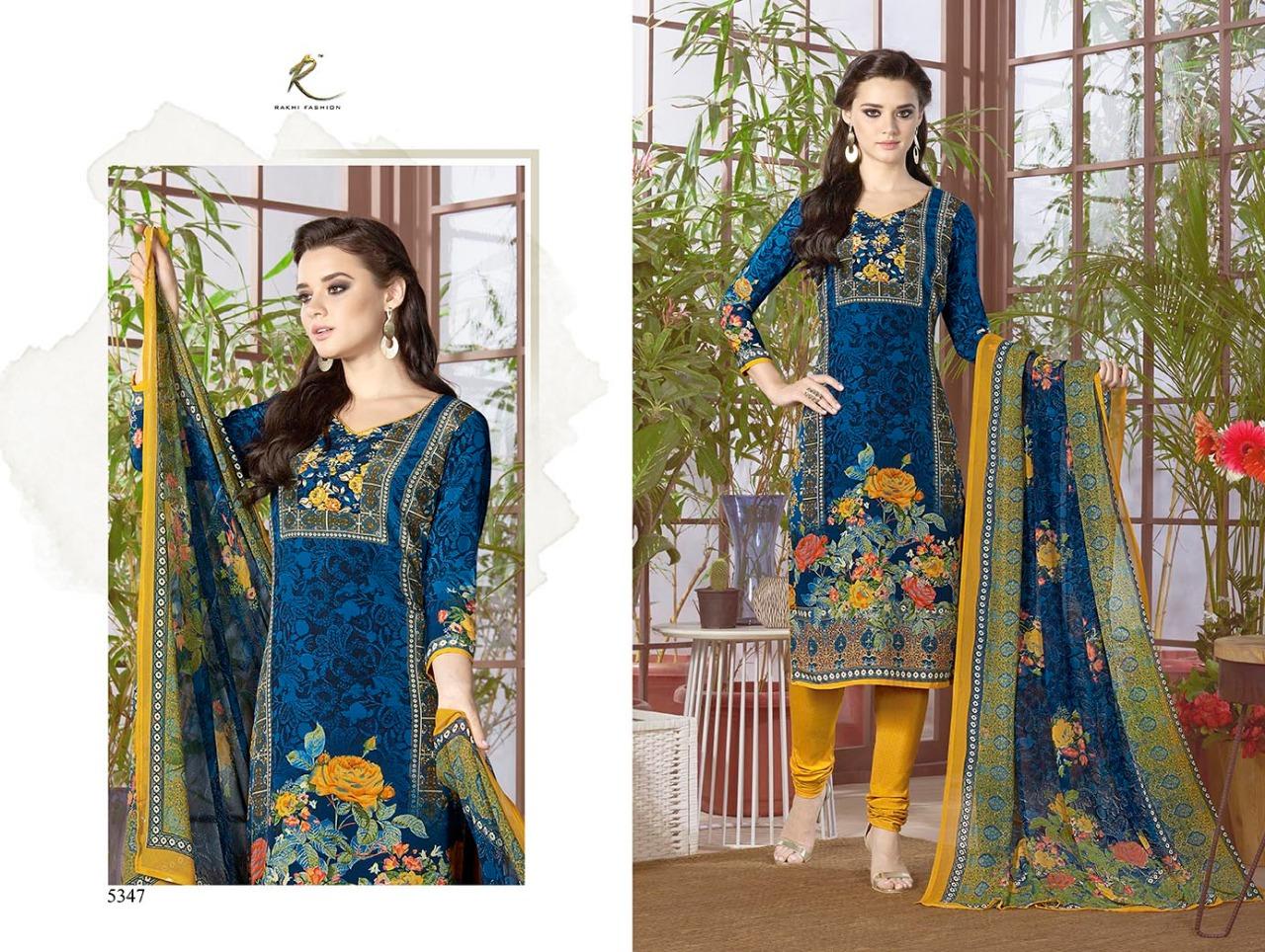 Rakhi Fashion Candy Long Suit 5347