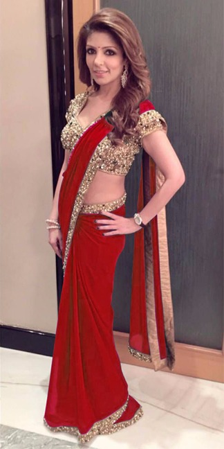 LATEST SAREE COLLECTION & COLORS RED