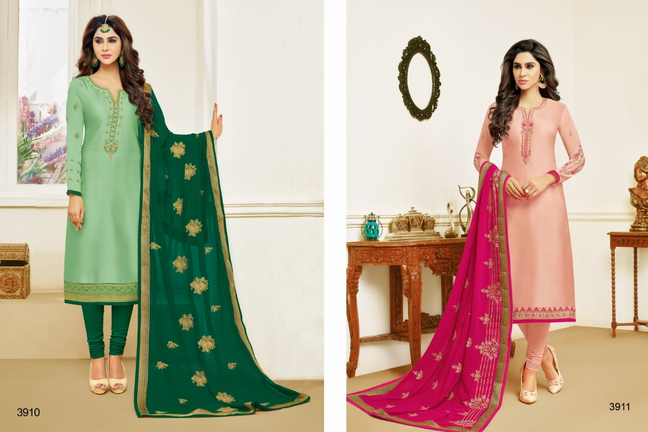 RR Fashion Khwab 3910 3911