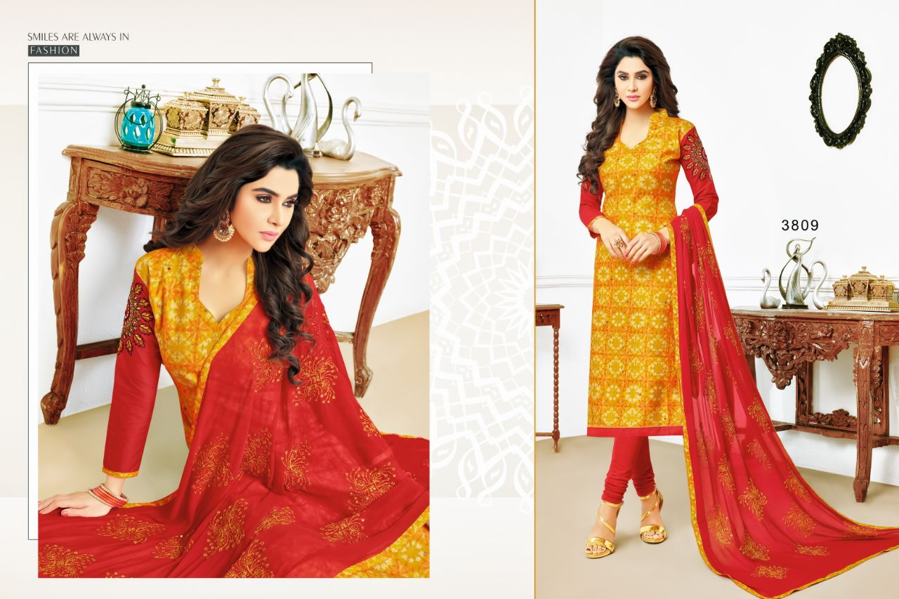RR Fashion Red Chilli 3809