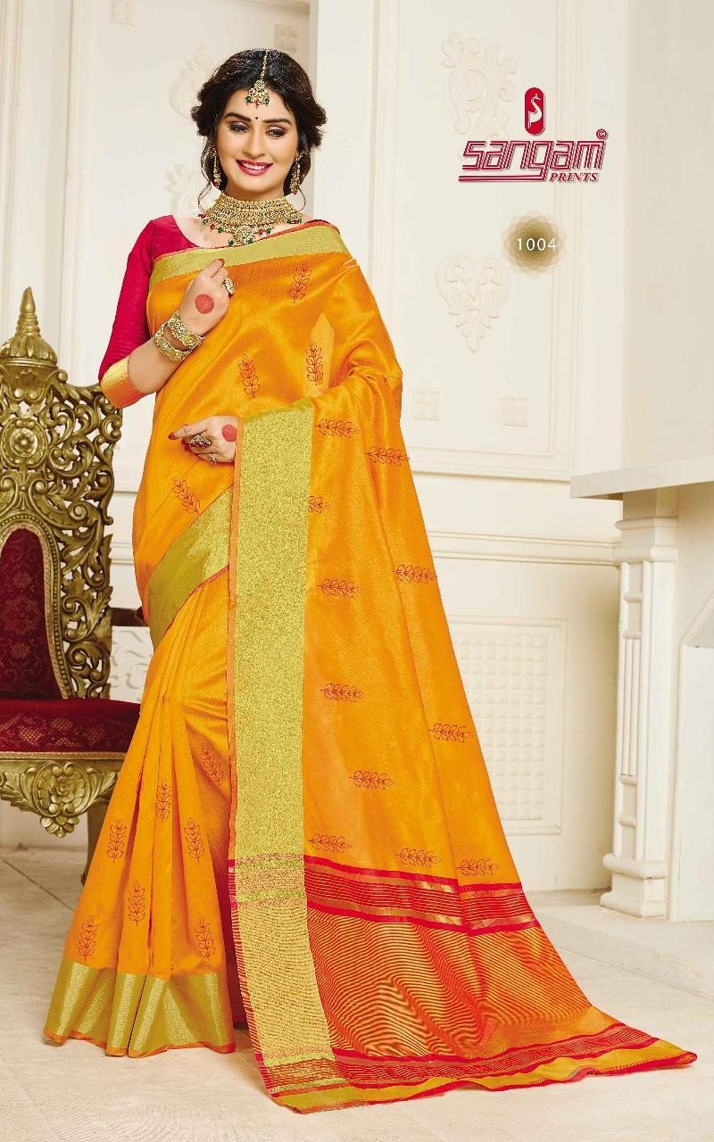 Sangam Sadhna Silk 1004