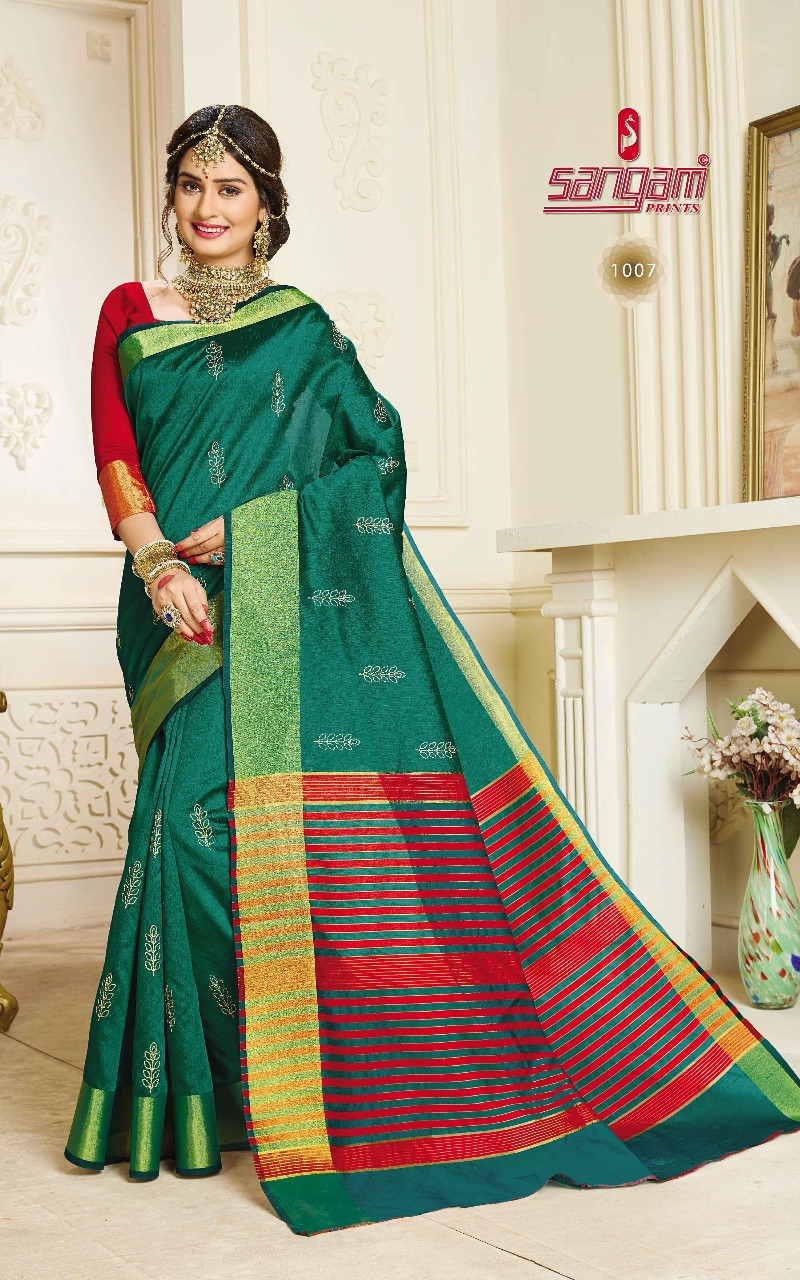 Sangam Sadhna Silk 1007