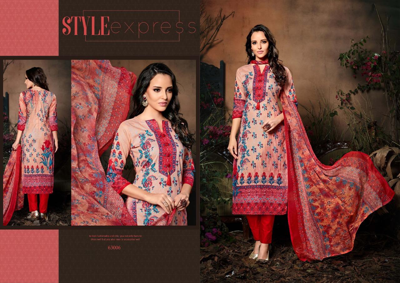 Sargam Prints Saher 63006