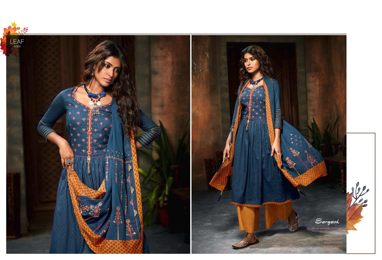 Sargam Prints Leaf 65002