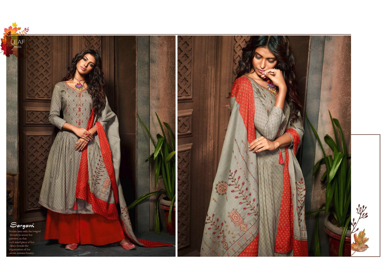 Sargam Prints Leaf 65005