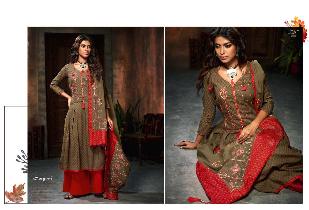 Sargam Prints Leaf 65008