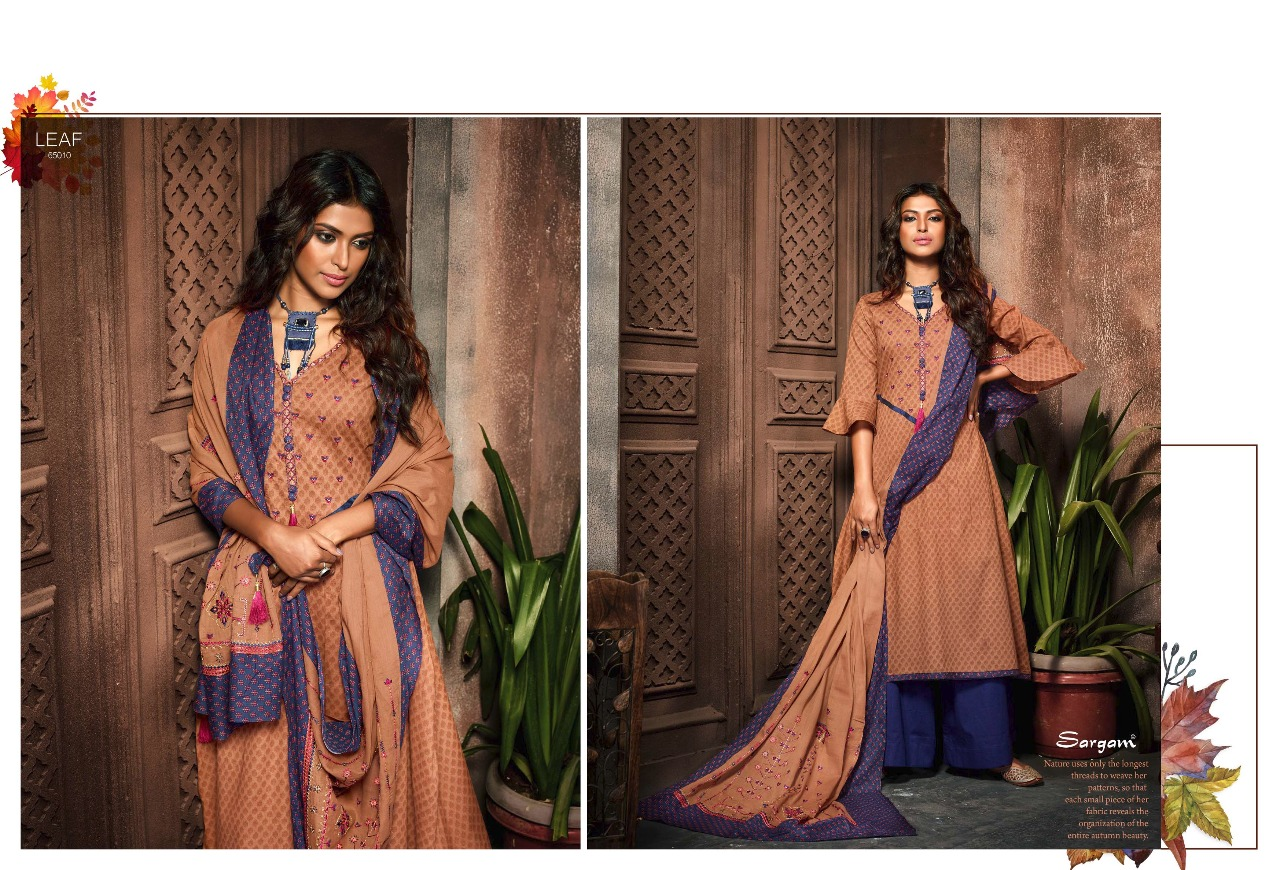 Sargam Prints Leaf 65010