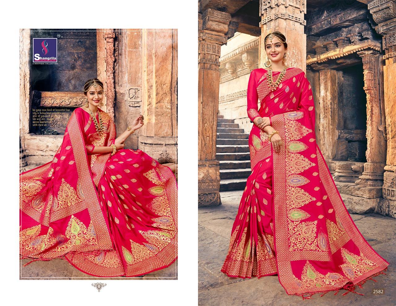 Shangrila Saree Nalli Silk 2582