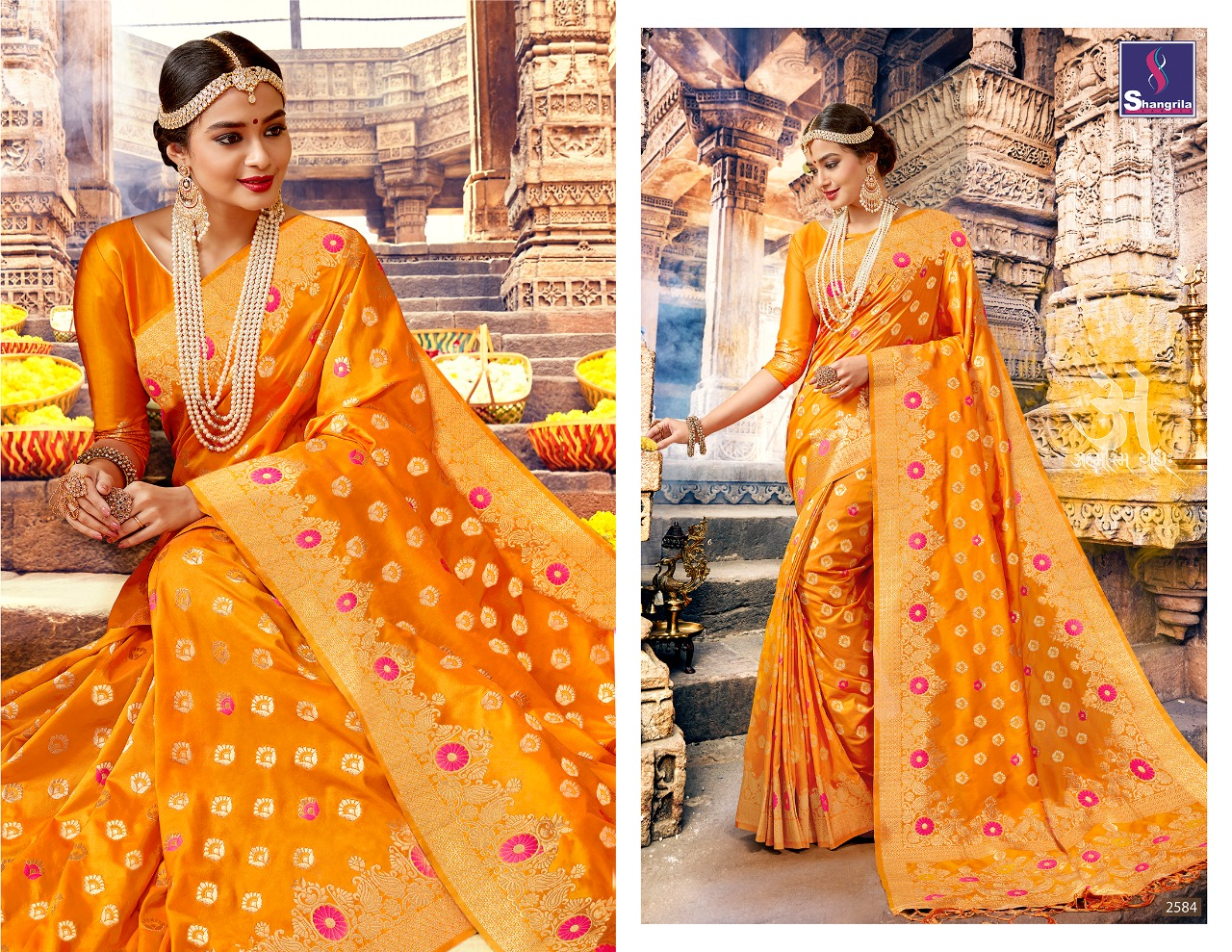 Shangrila Saree Nalli Silk 2584