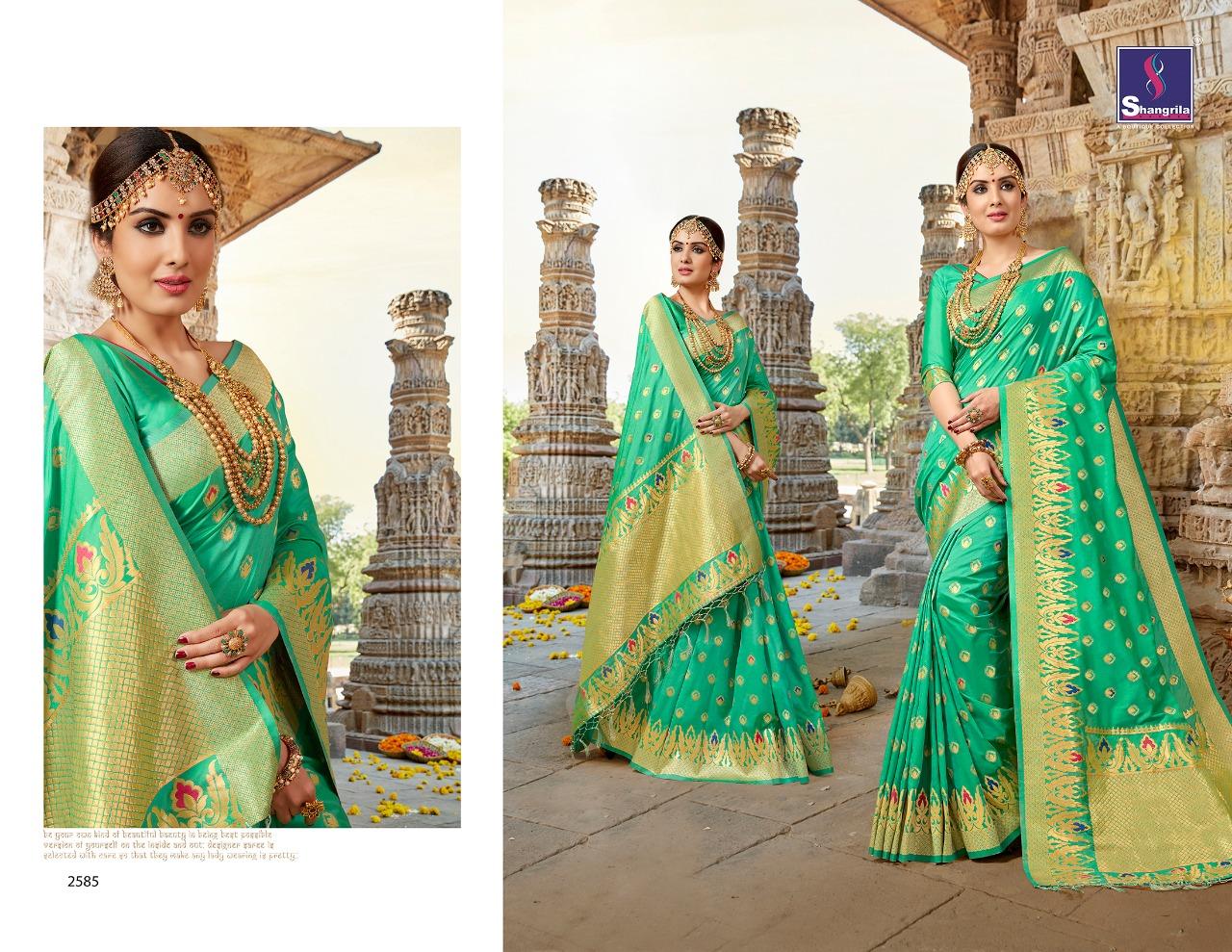 Shangrila Saree Nalli Silk 2585