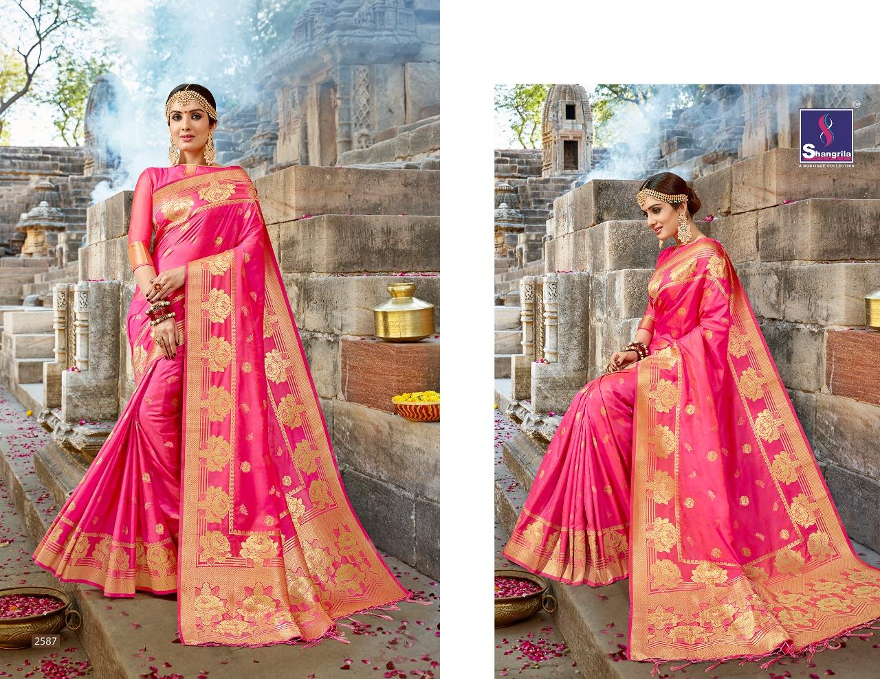 Shangrila Saree Nalli Silk 2587