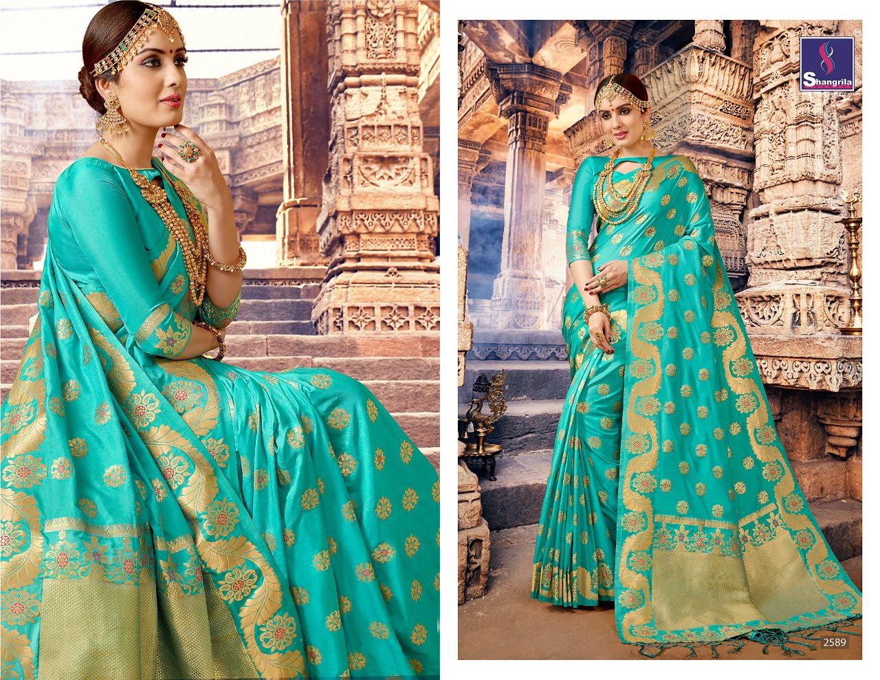 Shangrila Saree Nalli Silk 2589