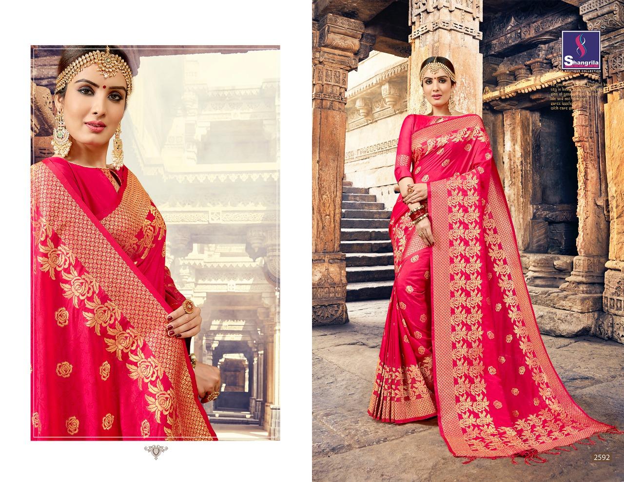 Shangrila Saree Nalli Silk 2592