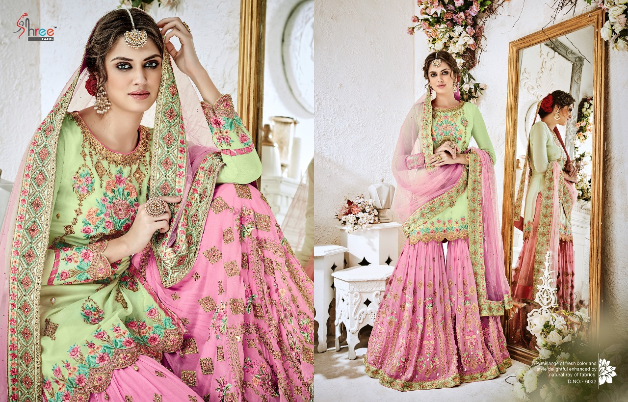 Shree Fabs Shehnai Bridal Collection 6032