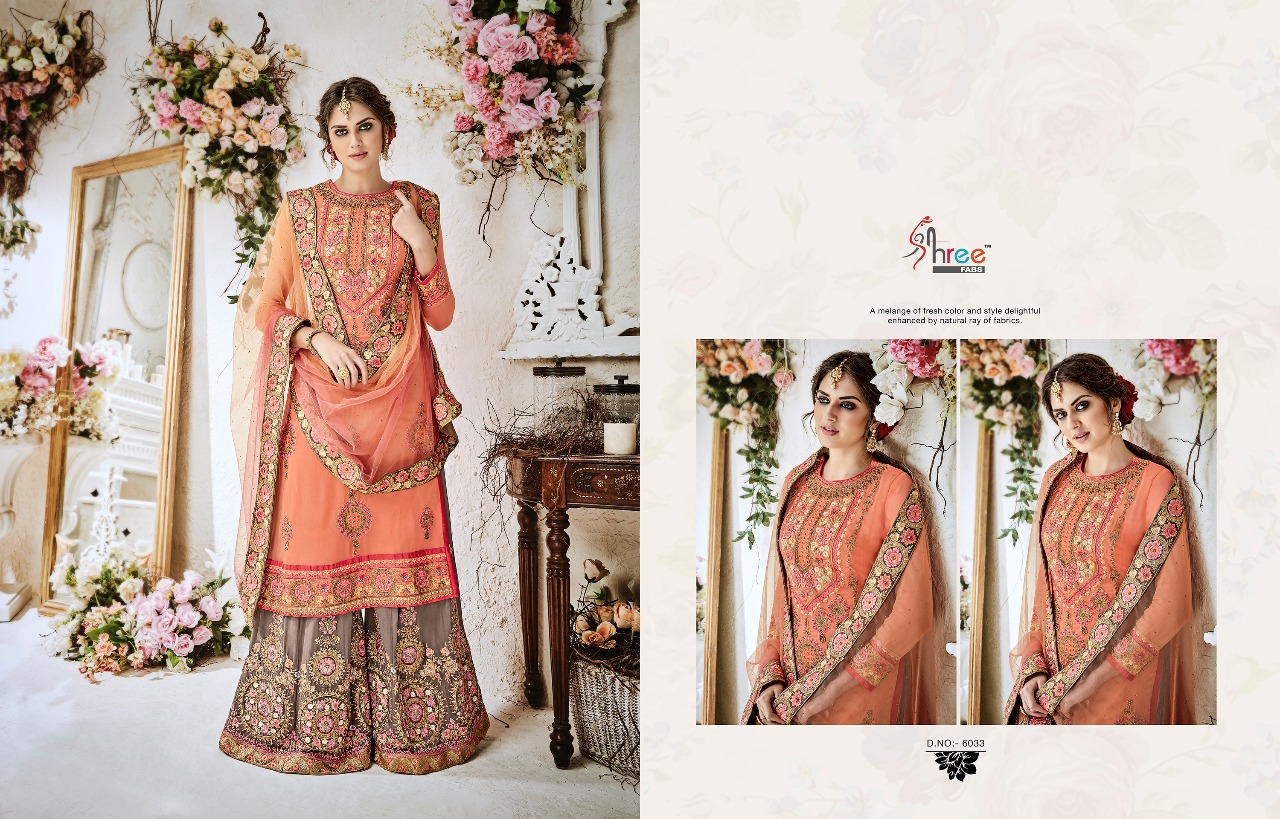 Shree Fabs Shehnai Bridal Collection 6033