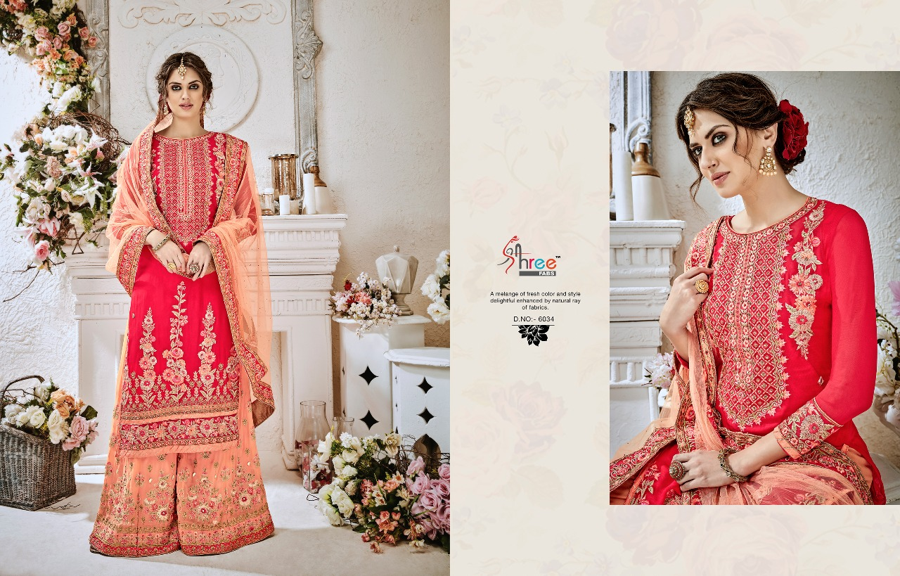 Shree Fabs Shehnai Bridal Collection 6034