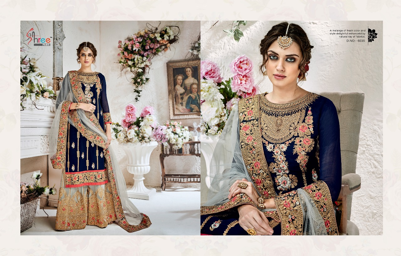 Shree Fabs Shehnai Bridal Collection 6035