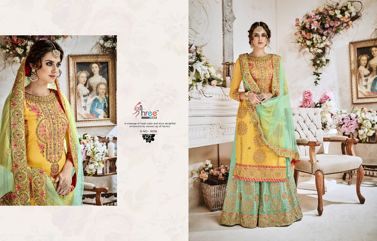 Shree Fabs Shehnai Bridal Collection 6036