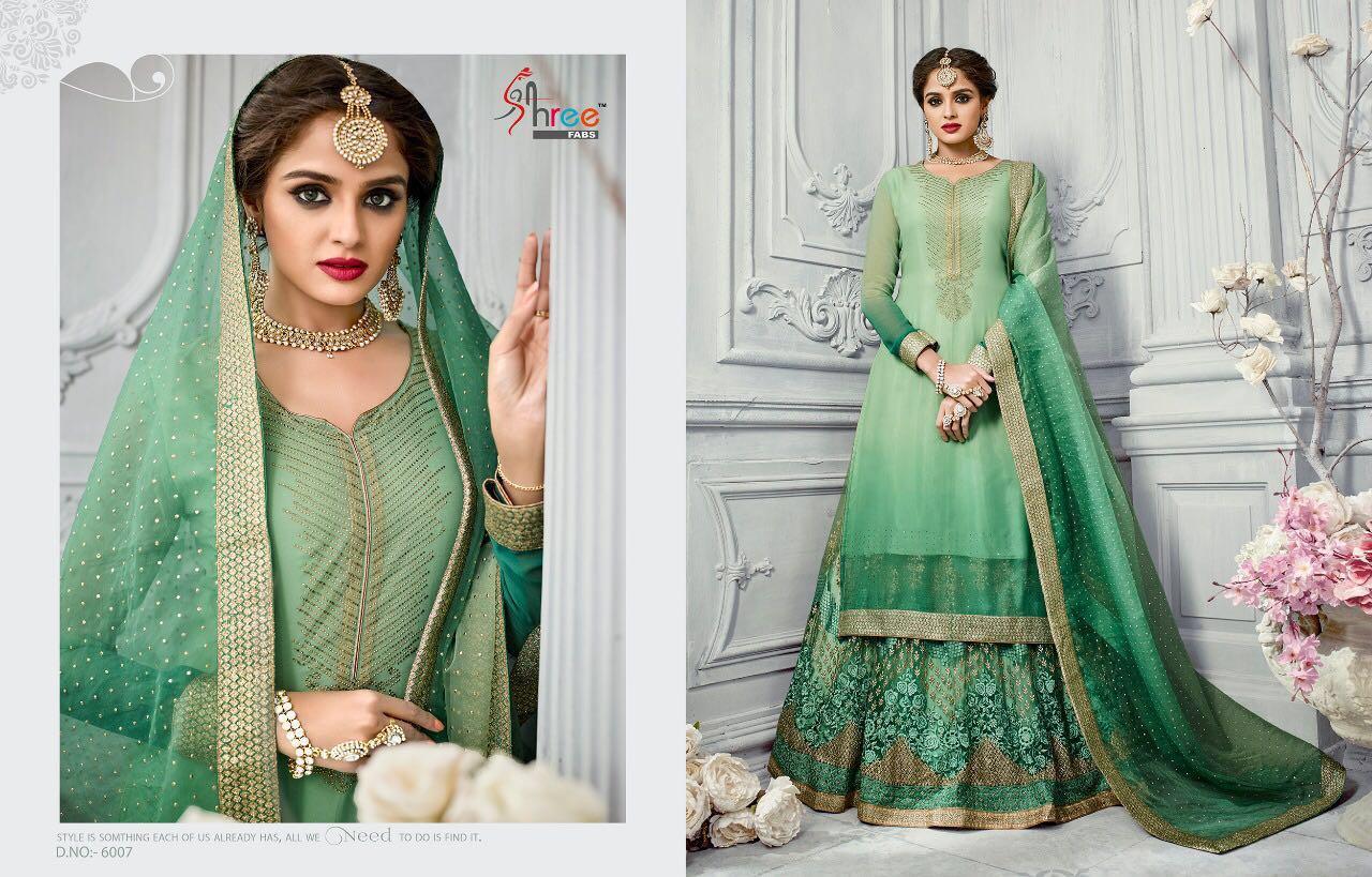 Shree Fabs Shehnai Bridal Collection 6007