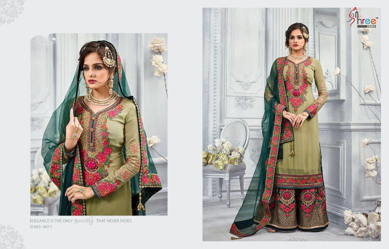 Shree Fabs Shehnai Bridal Collection 6011