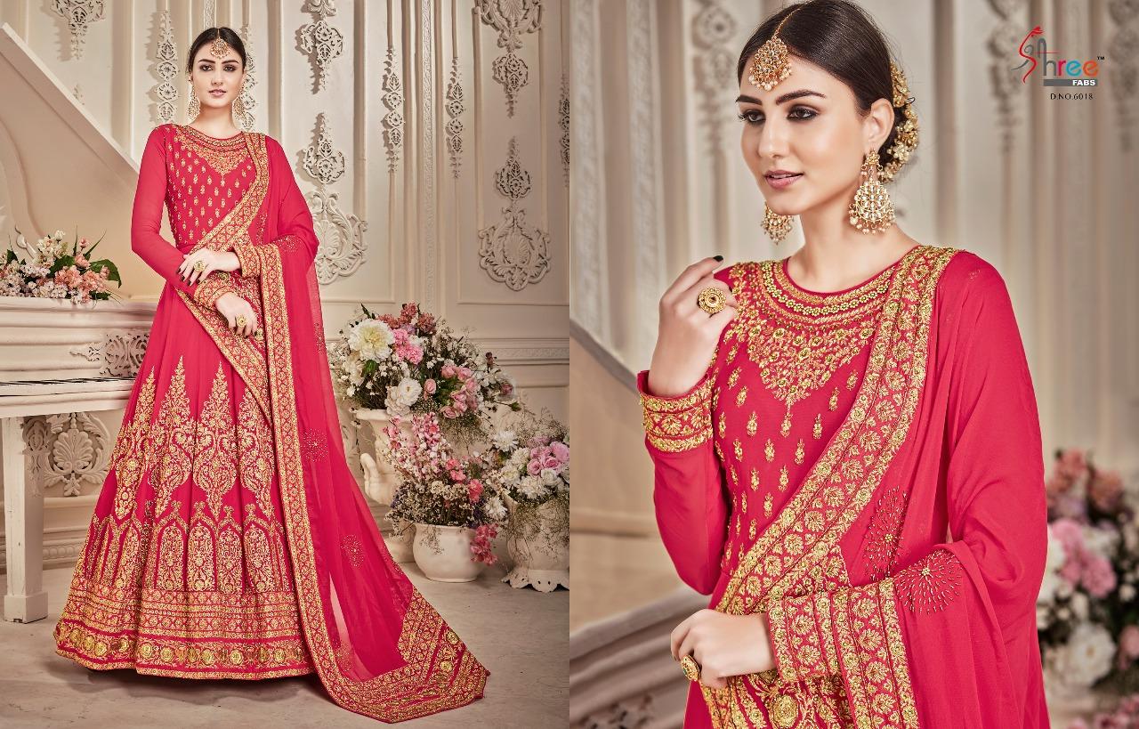 Shree Fabs Shehnai Bridal Collection 6018