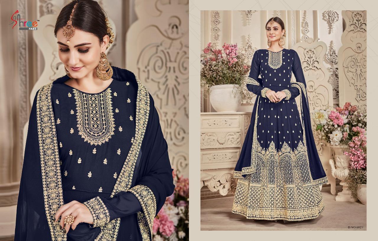 Shree Fabs Shehnai Bridal Collection 6021